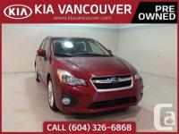 2014 Impreza 2.0i Limited Package148HP. 2.0L. four