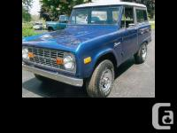 1976 Ford Bronco Rebuilt Motor Many new parts 302