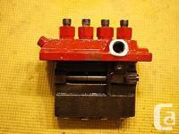 WESTERBEKE , # 30550 , High Pressure injector pump ,