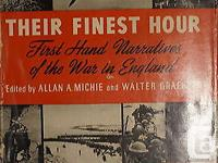 This is a used condition hard cover WW2 British 1st