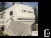 2004 Okanagan M27 5A fifth Wheel Artic package Skirting