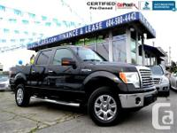 Well equipped Ford F150 XTR Supercrew four wheel-drive