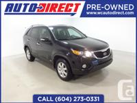 This reliable 2013 Kia Sorento is a comfortable ride
