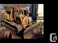 1985 Caterpillar D4E. Cat D4E is in decent shape for
