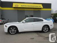 2012 DODGE CHARGER SXT AWD...THIS LOCAL BC UNIT IS