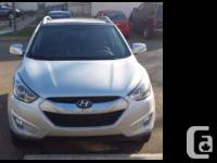 2014 Hyundai Tucson Limited 2.0 liter inline 4 cyl