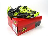 ProsBin.com Northwave Galaxy Road Shoe Black and Neon, used for sale  Quebec