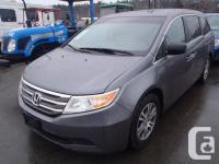 2011 Honda Odyssey EX-L. 3.5L. six cyl. five door.