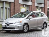2012 Toyota Prius V 2 CLASSIC SILVER METALLIC (SILVER)