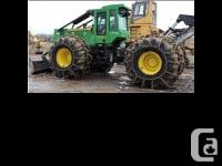 2013 JOHN DEERE 848H, 4500 hours, superwide extra heavy