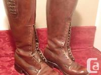RCMP tall leather dress boots - this is something that