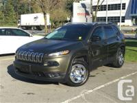 2014 Jeep Cherokee Sport Auto V6 Take command of the