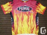 FOR SALE IS A two HOT 4 U PRIMAL WEAR CYCLING JERSEY IN