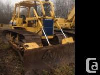 1992 Komatsu D58P LGP Crawler Tractor 1992 Komatsu D58P