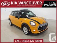 2015 MINI CooperWith a sporty and robust chassis. the