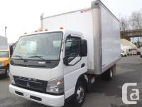 2010 Mitsubishi Fuso FE 180. powered by a fuel