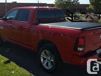 2009-2015 DODGE RAM 5.7 feet SHORT BED Tri-Fold Cover |