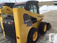 2014 YANMAR S190R SKIDSTEER IN NEAR NEW CONDITIONONLY