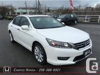 This is a stunning. pearl White 2013 Honda Accord
