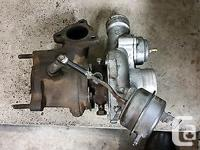 Garrett GT2052 removed from a SAAB 9-3 2.0t. Has no