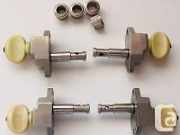 4 Kluson tuning pegs for banjo or bass guitar.. They