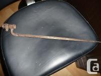 Antique British Martini Enfield Bayonet This was