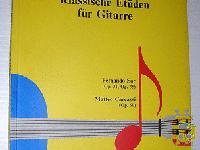 CLASSICAL STUDIES FOR GUITAR KLASSISCHE ET�DEN F�R