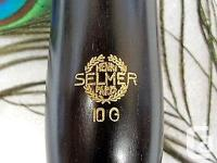 Selmer Paris 10G ~ 66 mm Clarinet Barrel Some rings are