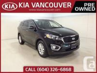 2016 Kia Sorento LXLocal single owner Sorento purchased