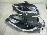 Aftermarket Headlamps Headlamps Pair LH RH For 2007