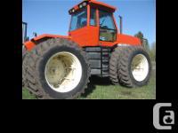 1982 Allis Chalmers 4W-220 Tractor Regular maintenance
