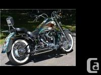 REDUCED . 1 of a kind 1996 Harley Davidson FLSTC