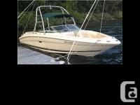 2001 Sea Ray 230 Bow Rider. PRICED IN CANADIAN DOLLARS
