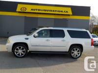 2007 CADILLAC ESCALADE ESV PREMIUM PKG...THIS LOCAL BC