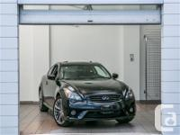 Straight from Infiniti Canada single owner and it is
