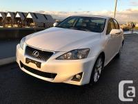 www.carboyauto.com 2011 Lexus IS250 LOW KM LEATHER &