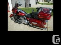 2009 Harley Davidson FLHTCUSE4 CVO. Stage III, LED