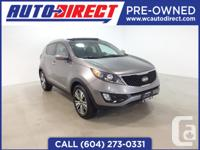Take a look at this beautiful Sportage! Low kms!