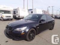 2008 BMW M5 Sedan. Dinan aftermarket upgrades. 5.0L.