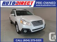 Have you ever taken a 2014 Subaru Outback on a test