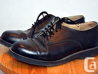 One pair of used Canadian military oxford shoes for for sale  Quebec