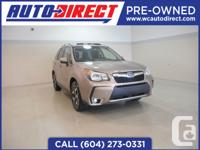 The 2014 Subaru Forester 2.0XT Limited brings better