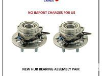 Hub Bearings All hub bearings are manufactured and
