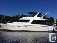 Fresh water 53' Voyager with twin 450 horsepower