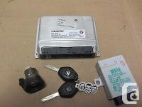 Bmw OEM E46 MS 45.1 Engine Computer ECU DME Ignition