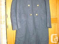 This auction is for a vintage RCAF Greatcoat that I