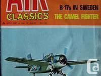 AIR CLASSICS MAGAZINE June vol.4 issue 5, 1968. Inside: