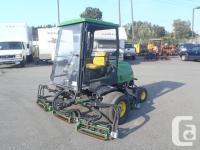 2007 John Deere 3225C Lawn Mower Diesel. five Gang