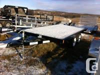 "78"" x 12' Deck 2 - 3500# EZ Lube Spring Axles with 14"""