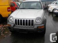 2002 JEEP LIBERTY SPORT 4X4 AUTO THIS UNIT IS IN